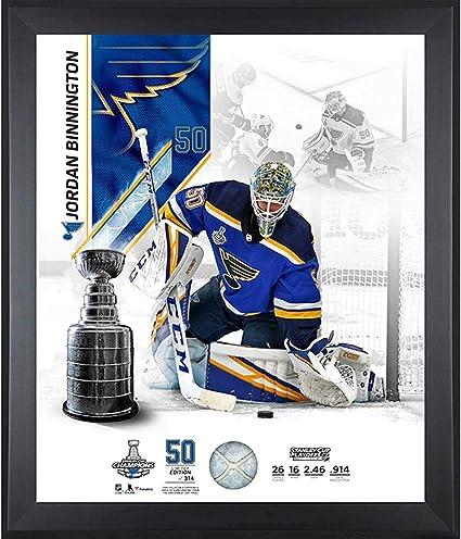 Amazon Com Jordan Binnington St Louis Blues 2019 Stanley Cup