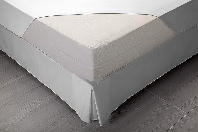 Pikolin Home - Funda de Colchón Bielástica, Antiácaros, Transpirable, cama 135, 135 x 190/200 cm (Todas las medidas): Amazon.es: Hogar
