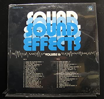 Various - Various ?- Sound Effects Volume 16 - Lp Vinyl ...