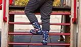hibigo Children's Natural Rubber Rain Boots with
