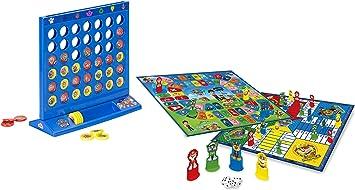 Saica Set PARCHIS/OCA Y 4 EN Linea Paw Patrol / Patrulla Canina: Amazon.es: Juguetes y juegos