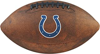 Game Master NFL Indianapolis Colts Junior Wilson Throwback Football, 11-Inch, Brown