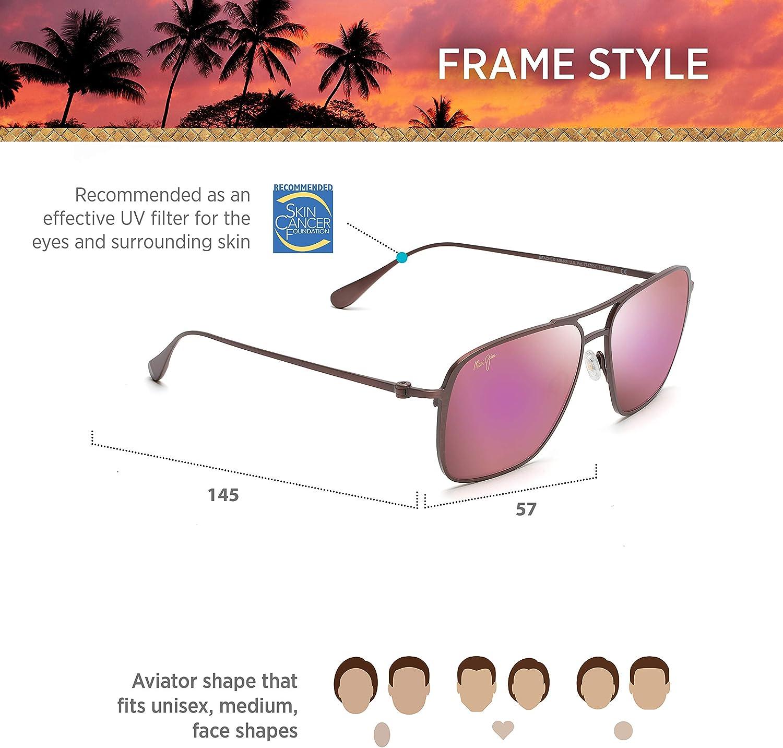 Maui Jim Beaches Aviator Sunglasses