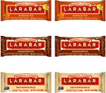 LÄRABAR 3 Flavor Seasonal Variety, Gingerbread(2 Bars), Snickerdoodle(2 Bars), Pumpkin Pie(2