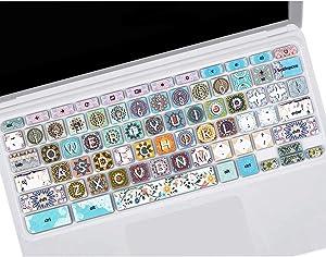 Keyboard Skin Cover for Chromebook R 11 CB5-132T CB3-131,Acer Premium R11, Acer Chromebook R 13 CB5-312T, Acer Chromebook 14 CB3-431 CP5-471,Acer Chromebook 15 CB3-531 CB5-571 C910, Bohemian