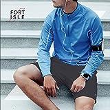 Fort Isle Men's Running Shorts - L - Gray - Quick