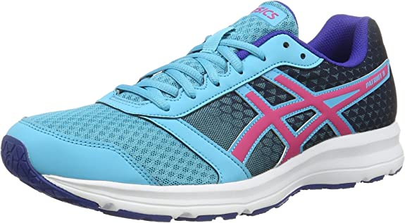 ASICS Patriot 8, Zapatillas de Gimnasia Unisex Adulto, BLU (Aquarium/Sport Pink/Deep Blue), 44.5 EU: Amazon.es: Zapatos y complementos