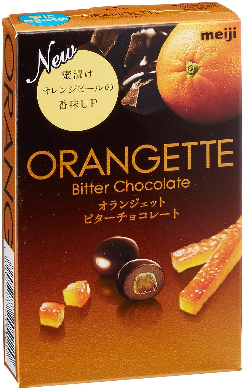 明治 オランジェットビターチョコレート