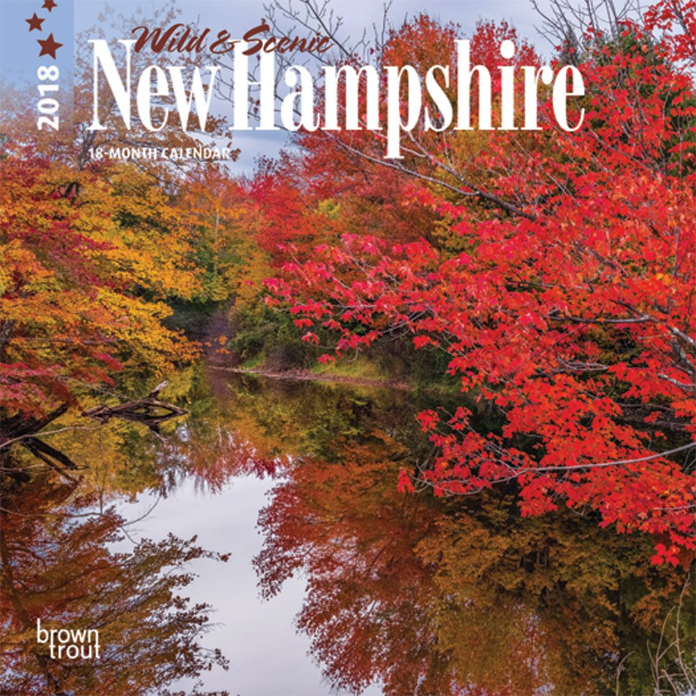 New Hampshire, Wild & Scenic 2018 7 x 7 Inch Monthly Mini Wall Calendar, USA United States of America Northeast State Nature ebook