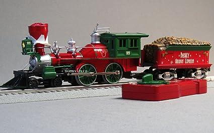 Lionel Christmas Train.Amazon Com Lionel Disney Christmas Steam Engine Tender