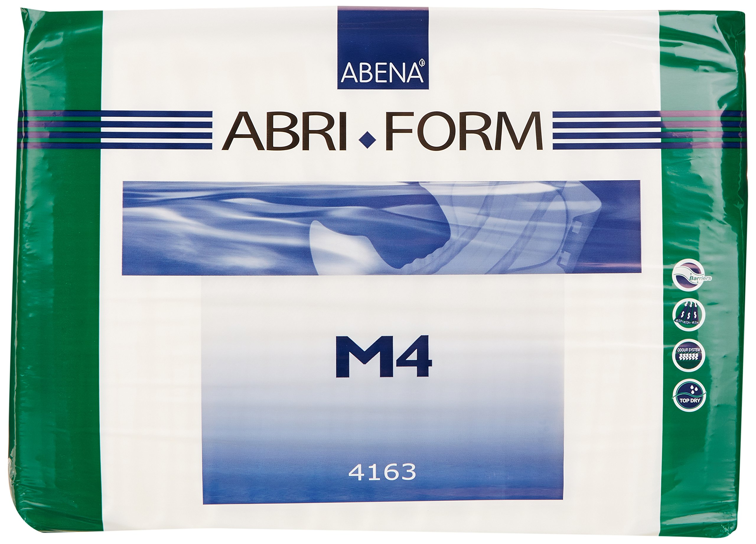 Abena Abri-Form Comfort Briefs, Medium, M4, 42 Count (3 Packs of 14) by Abena