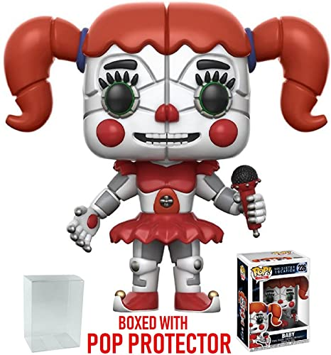 Funko Pop! Games: Five Nights at Freddy's Sister Location - Jumpscare Baby  Vinyl Figure (Includes Compatible Pop Box Protector Case)