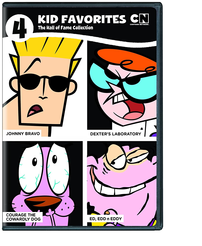4 Kid Favorites Cartoon Network Hall of Fame Vol. 1 (DVD)