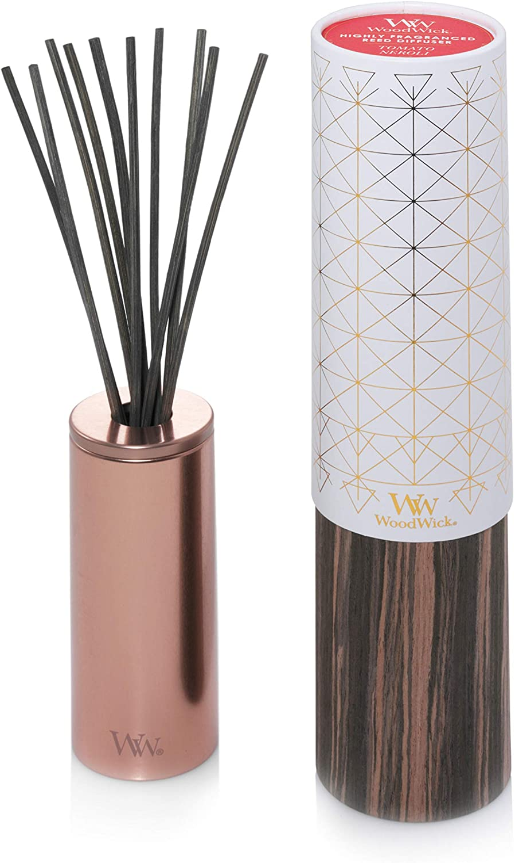 WoodWick Aura Reed Diffuser|Tomato Neroli Diffuser Oil Scent|Reed Diffuser for Essential Oils