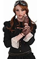 Forum Novelties Women's Steampunk Fingerless Gloves Costume Accessory