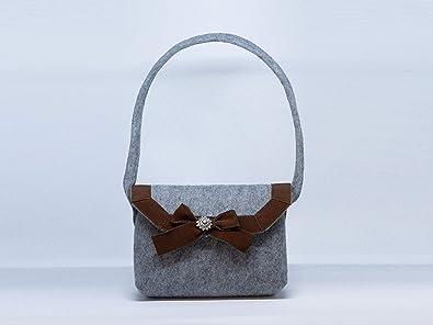 Bagvaria Trachten Handtasche Feltissima Filzhandtasche Amazon De