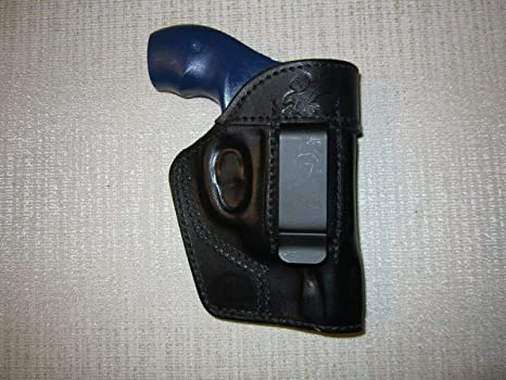 S&W J Frame,IWB,OWB,SOB, AMBIDEXTROUS Formed Leather Revolver Holster