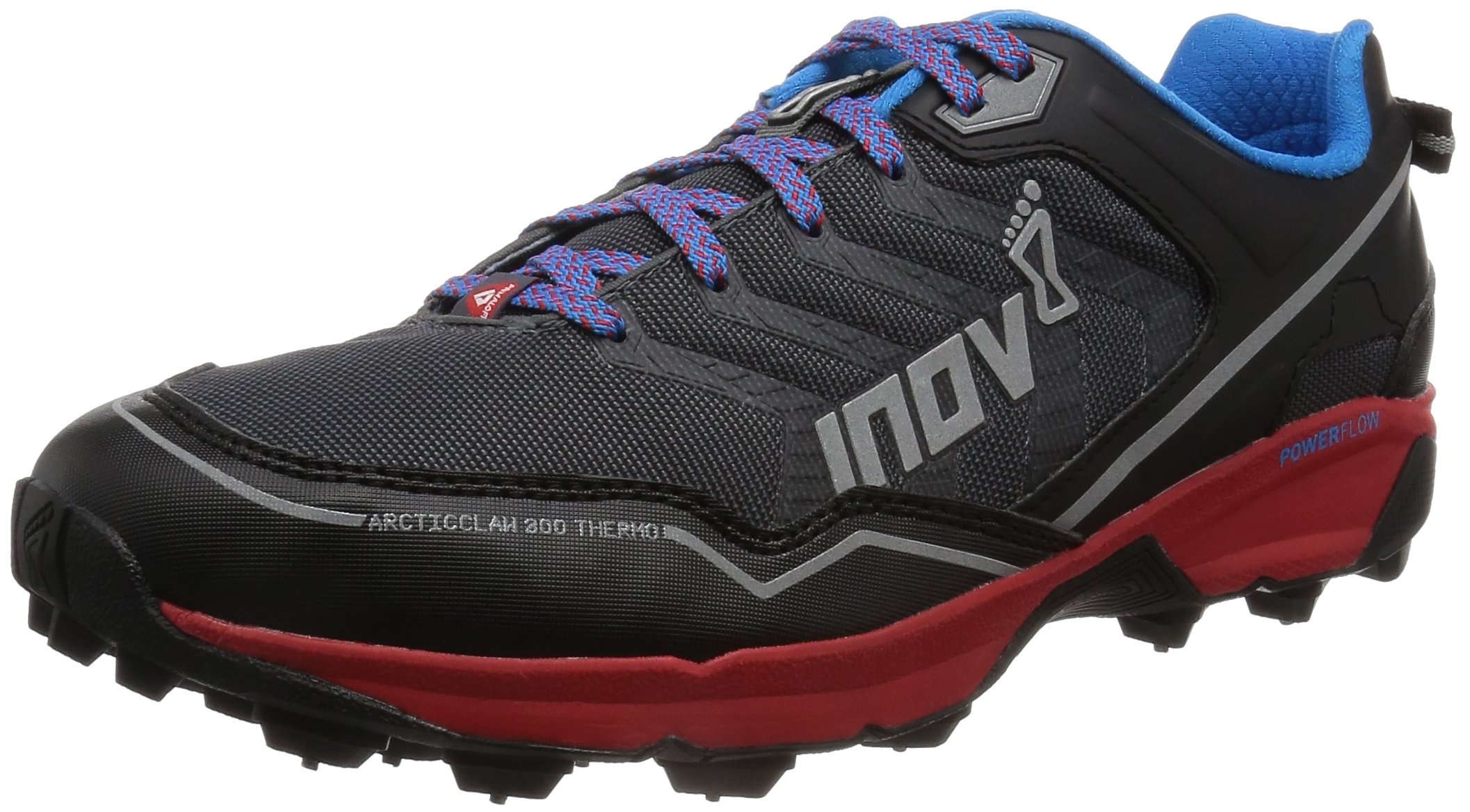 Inov-8 Arctic Claw™ 300 Thermo-U Trail Runner, Grey/Red/Blue, 7.5 M US