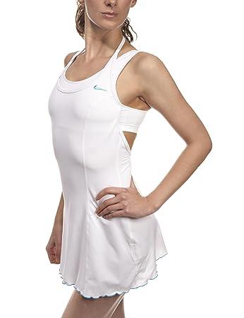 Nike Womens Power Tennis Dress White 10/12
