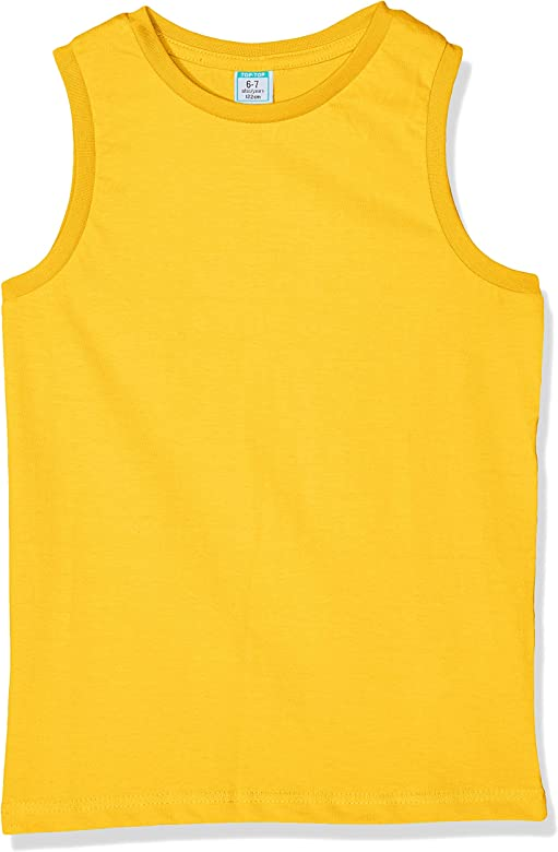 Top Top Cabanite Camiseta de Tirantes, Amarillo (Amarillo 240), 140 (Tamaño del Fabricante:9-10) para Niños: Amazon.es: Ropa y accesorios