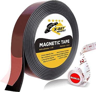 FLEXIBLE MAGNETIC RUBBER SELF ADHESIVE ROLL SHEET FILM  SIGN BOARD FRIDGE