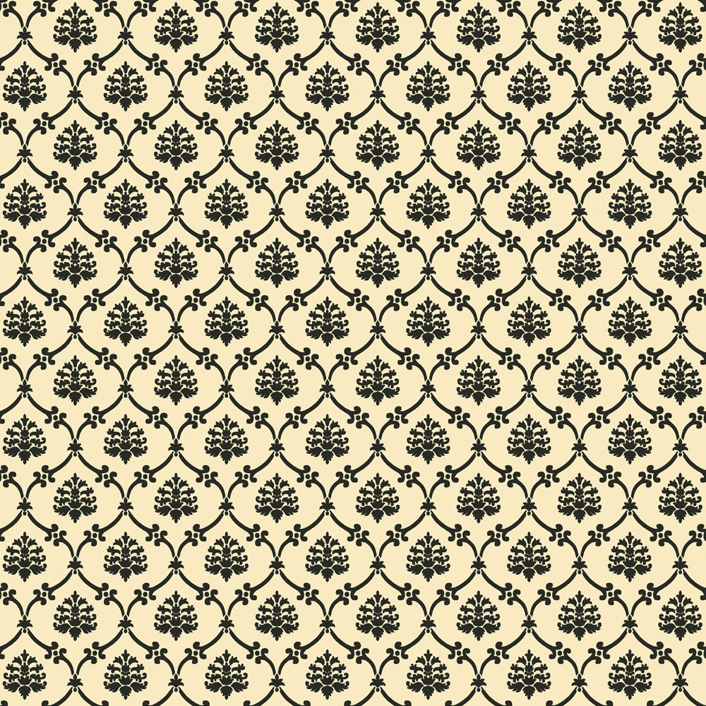 Decorate By Color BC1581431 Black Linked Medallions Wallpaper