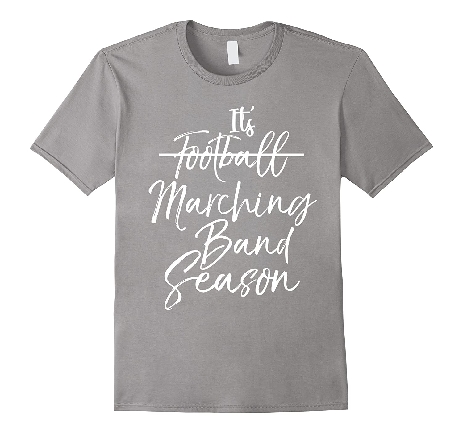 It's Marching Band Season Shirt Not Football Funny Music Tee-Art