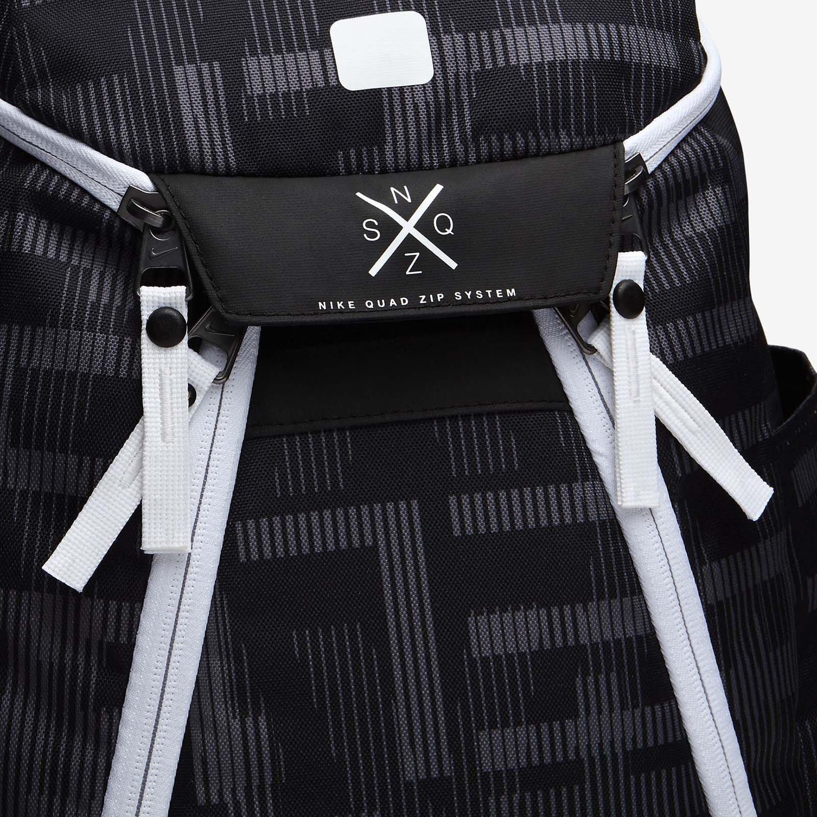 Nike Hoops Elite Max Air Team 2.0 Graphic Basketball Backpack Black/White by NIKE (Image #4)