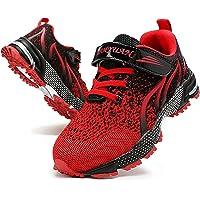 Linenghs Zapatillas deportivas para correr para niños, de moda, transpirables, para niños, niñas, tenis y caminar