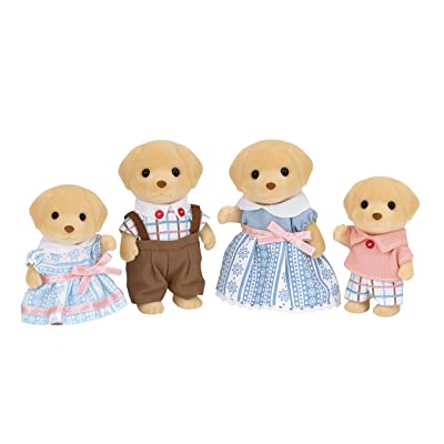 Calico Critters Yellow Labrador Family: Toys & Games