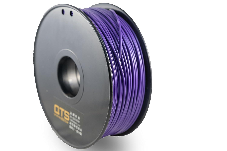 QTS PLA Filamento de impresora 3D, diámetro 1,75 mm, bobina de 1 ...