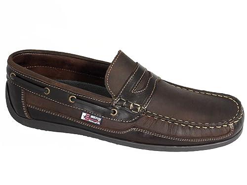 Beppi Portugués en piel Naúticos / Mocasines para hombre Marrón: Amazon.es: Zapatos y complementos