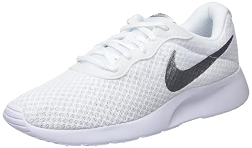 super specials cheap sale best shoes Nike Damen WMNS Tanjun Sneakers, Weiß (White/Metallic Silver 101), 41 EU