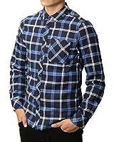 (リピード) REPIDO チェックシャツ メンズ シャツ 長袖 カジュアル ネルシャツ ワークシャツ 長袖シャツ カジュアルシャツ