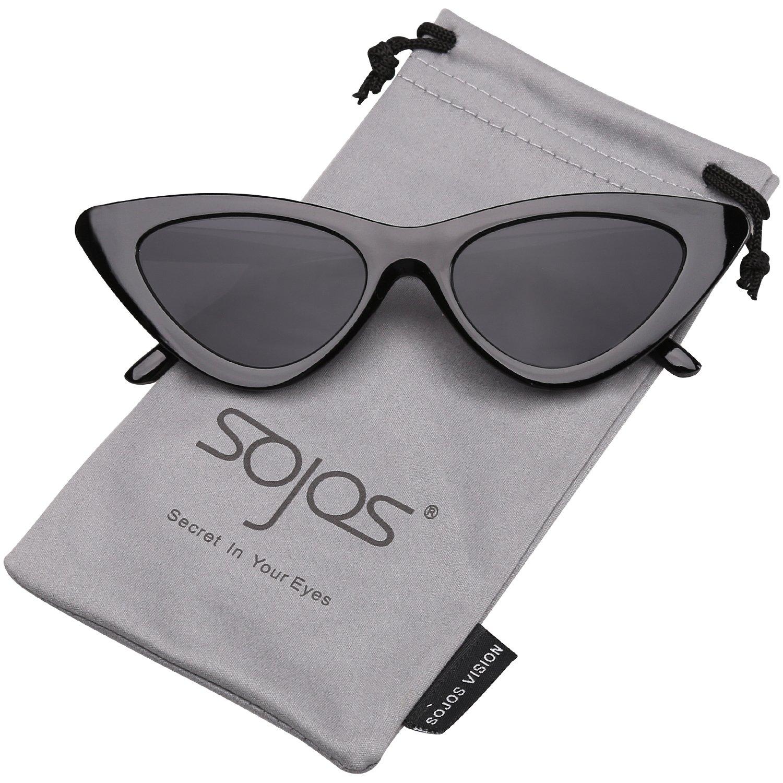 SOJOS Occhiali di Protezione Occhiali da Sole da Donna Occhio di Gatto  Retro Vintage Stile SJ2044 e9485df73e