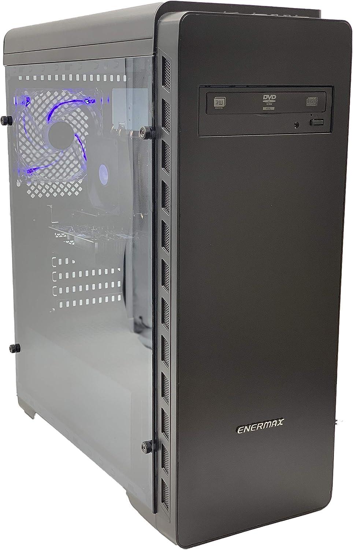 AVGPC Master III GTX 1050 Gaming Computer Desktop PC FX-6300 3.50 GHz 6-Core, GTX 1050 2GB, 8GB DDR3, 1TB HDD, 24X DVD, Windows 10 Pro 64-bit, GTX 1050 FX6300