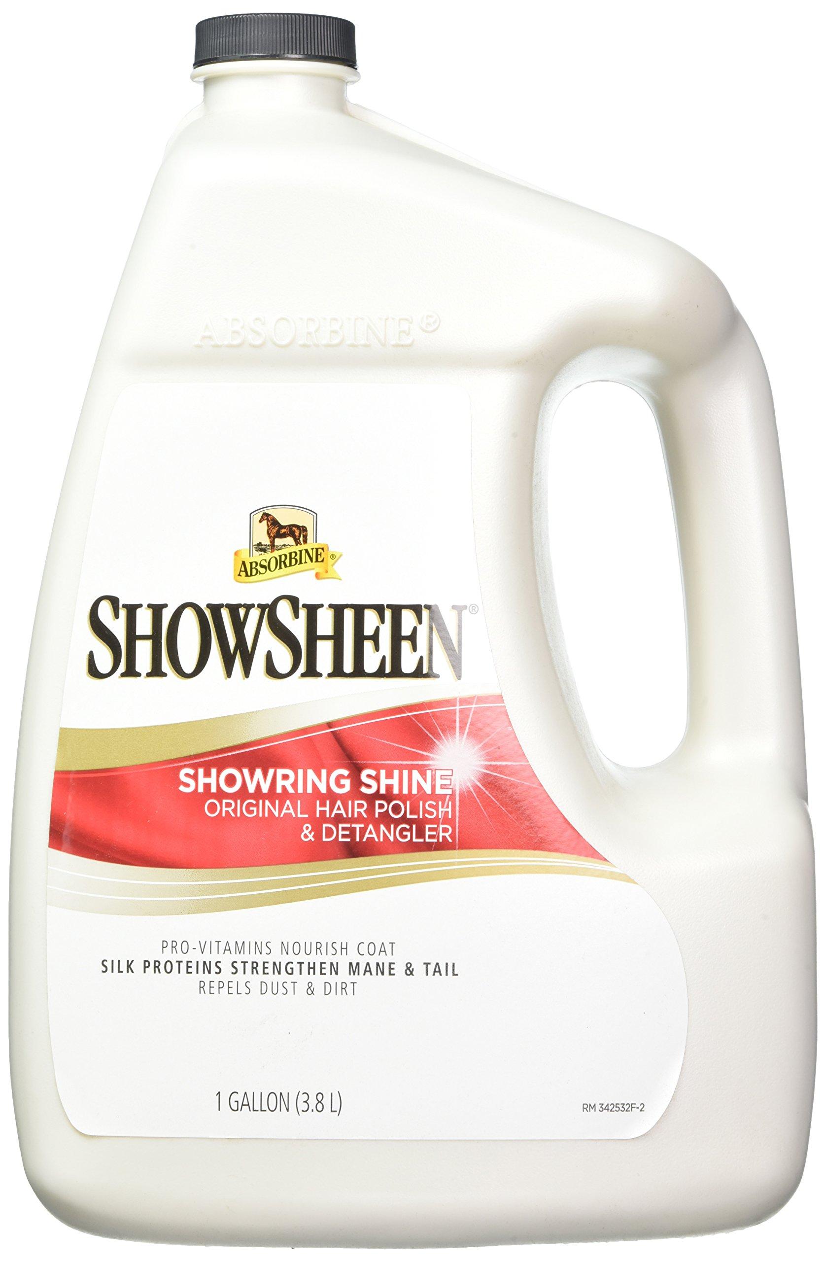 Absorbine Showsheen Showring Shine Detangler, 1 Gallon