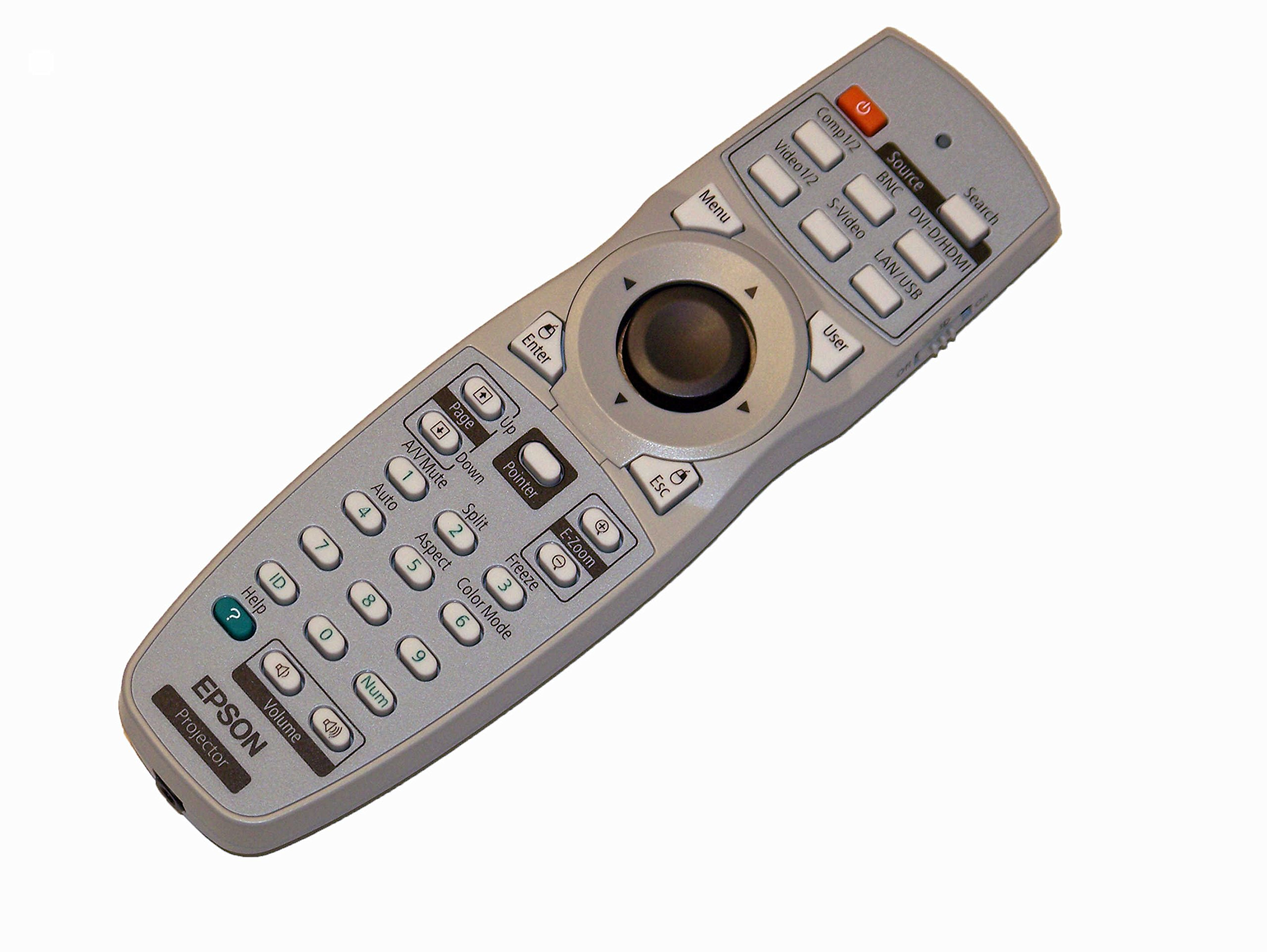 OEM Epson Projector Remote Control Shipped With Epson PowerLite Pro G5600, PowerLite Pro G5900