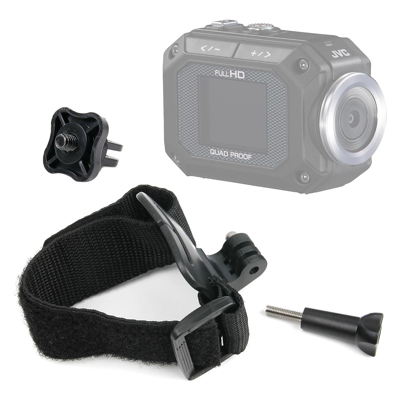 DURAGADGET Premium Quality JVC Action Camera Wrist Mount - Adjustable Wrist Strap Handle Mount Fastening for JVC GC-XA1 ADIXXION & JVC GC-XA2 ADIXXION - Plus BONUS GoPro Screw Thread Adapter! 1183+1404_6_US