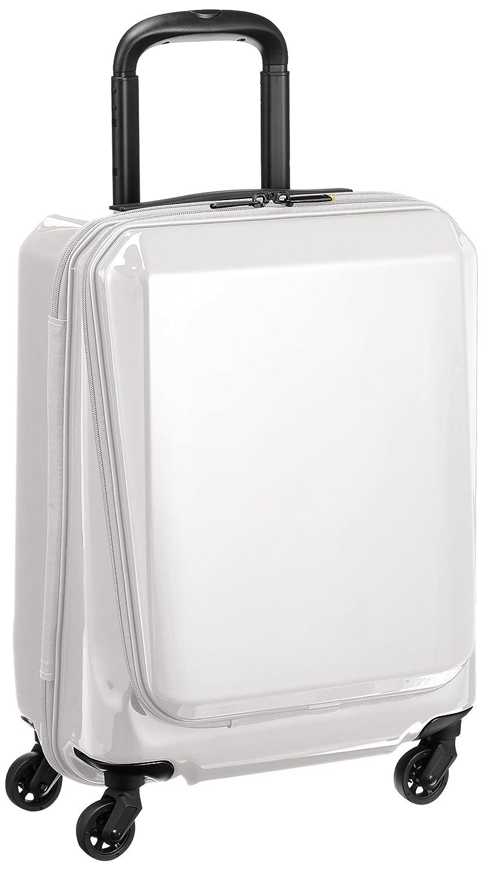 [エースジーン] ace.GENE スーツケース スクエアワン 31L 2.9kg TSAダイヤルファスナーロック B01DB6FBVCホワイト