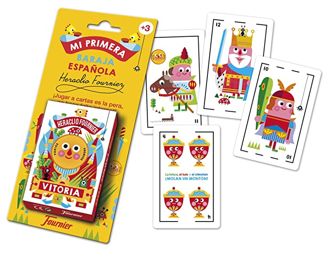 Amazon.com: Fournier – Childrens Playing with 40 Cards ...