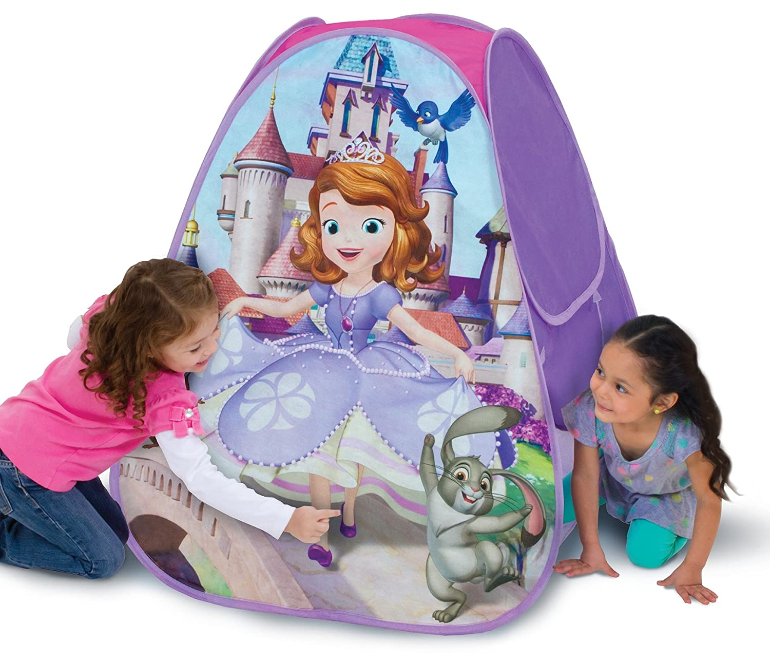 Amazon.com Disney Classic Hideaway Playhut (Sofia The First Princess) Toys u0026 Games  sc 1 st  Amazon.com & Amazon.com: Disney Classic Hideaway Playhut (Sofia The First ...