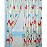 Dinoland Dinosaurs Fully Lined Bedroom Curtains Set 66 Quot X