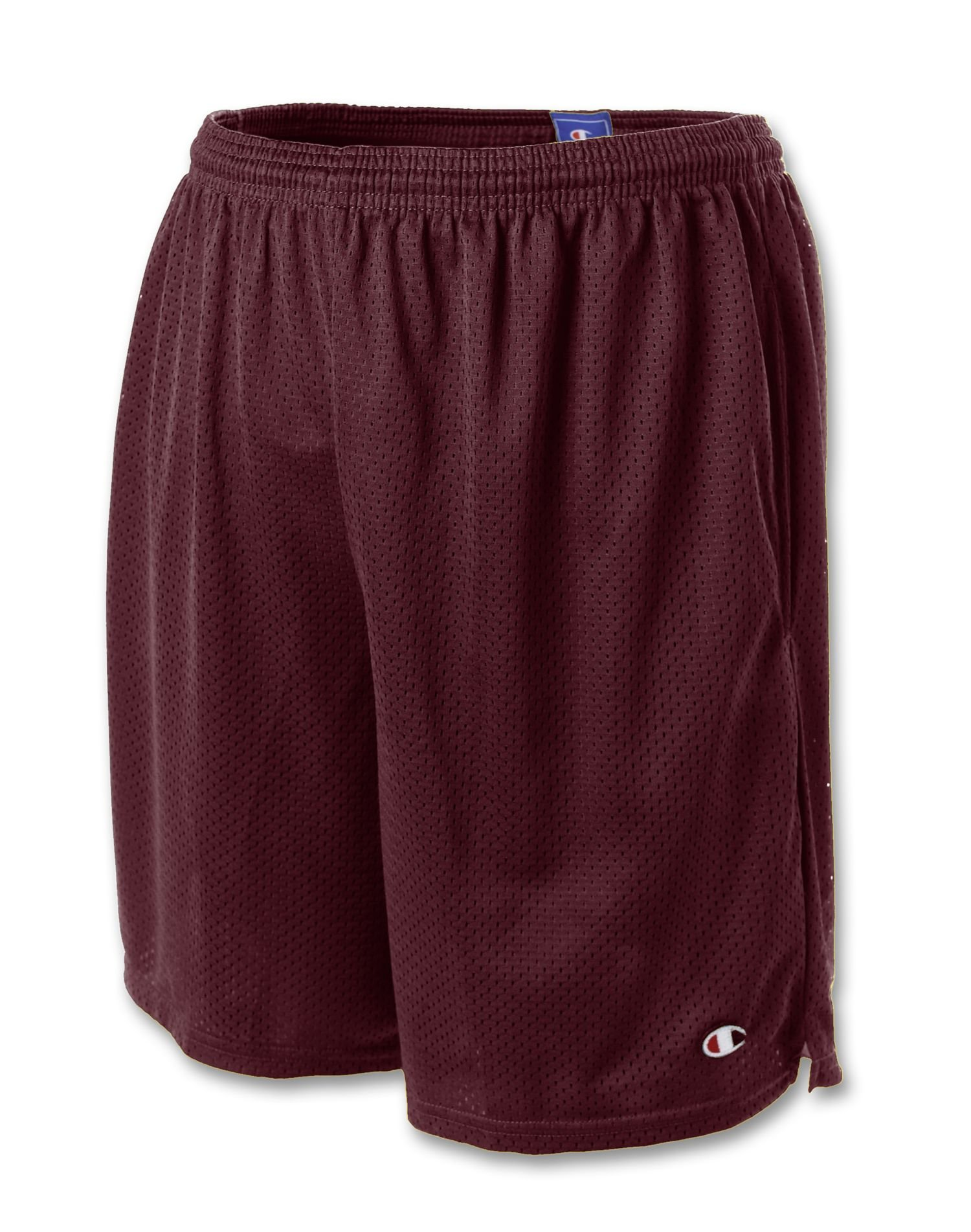Champion Men's Long Mesh Short with Pockets,Granite Heather,XXX-Large by Champion