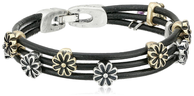 Lucky Brand Flower Woven Bracelet (Ttone) Bracelet u886MQA