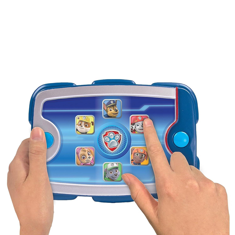 PAW PATROL 6026852Electronic Pup Pad Tablet-Nachbildung (Tonwiedergabe evtl. Nicht in Deutscher Sprache) Spinmaster Italy