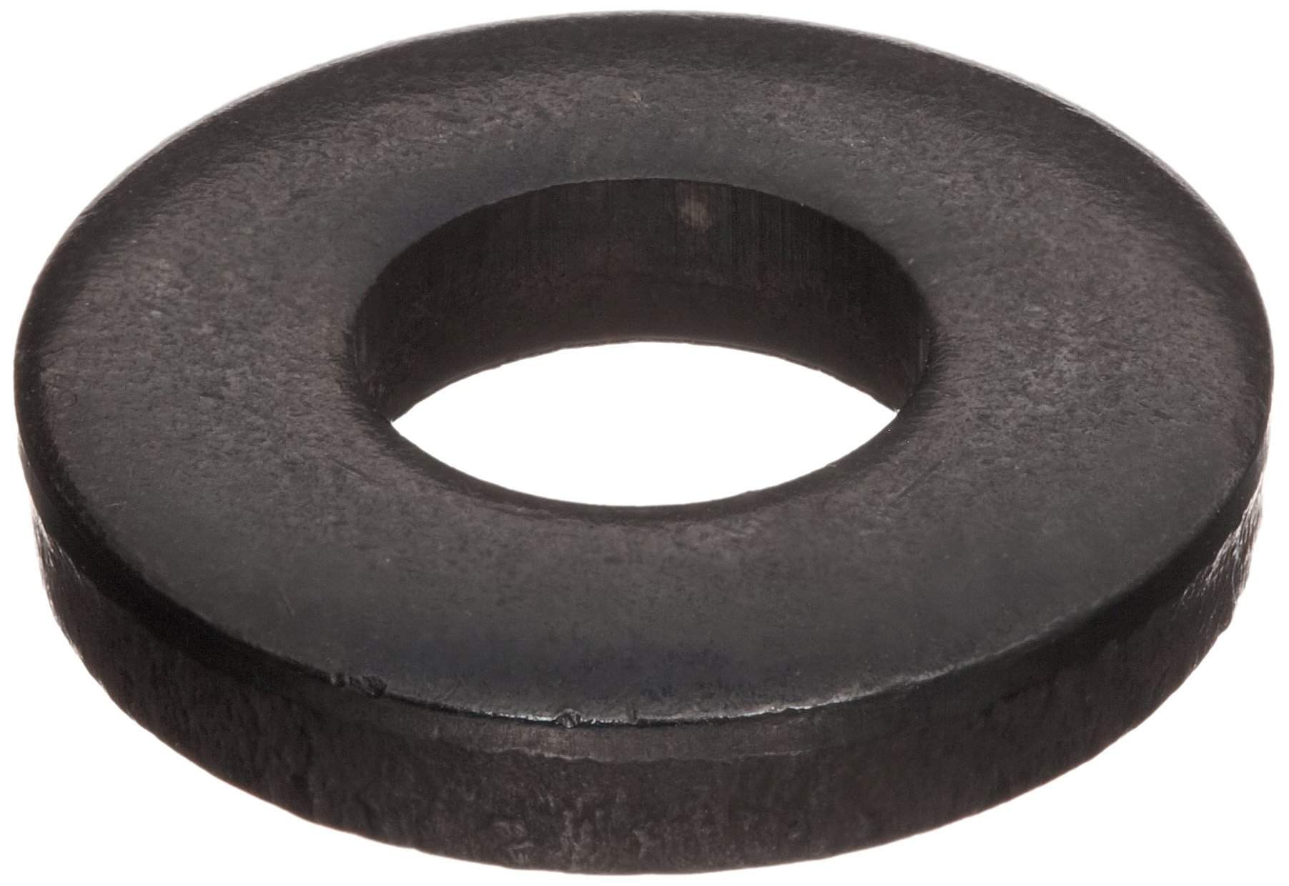 Steel Flat Washer, 5/16'' Hole Size, 0.281'' ID, 0.625'' OD, 0.125'' Nominal Thickness, Made in US (Pack of 50)