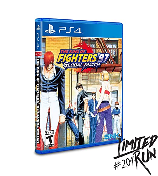 Amazon Com King Of Fighters 97 Global Match Limited Run 204