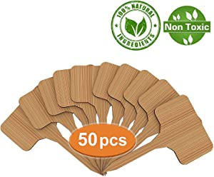 Sweepstakes: HOMLICO Plant Labels Garden Markers Bamboo Tags Seedling...