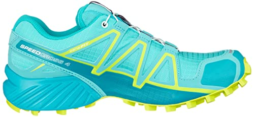 Amazon.com | Salomon Speedcross 4 Womens Trail Running Shoes - Blue-6 | Trail Running